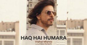 Haq Hai Humara (Lyrics) - Vishal Mishra