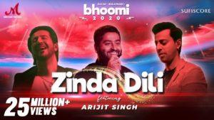 Zinda Dili Bhoomi 2020 Lyrics | Salim - Sulaiman, Arijit Singh