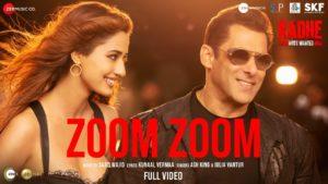 Zoom Zoom Lyrics | Radhe – Your Most Wanted Bhai (2021) | Ash King, Iulia Vantur, Sajid