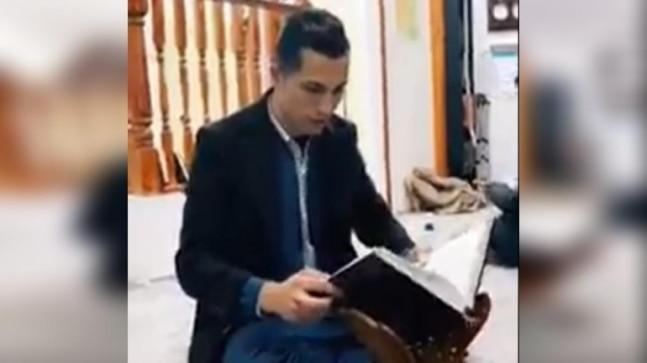 तथ्य की जाँच करें: वायरल वीडियो में कुरान पढ़ने वाले रोनाल्डो के डोपेलगैंगर पर नेटिज़न्स की यात्रा